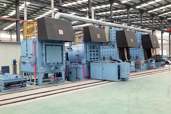 氮化炉通电运行步骤