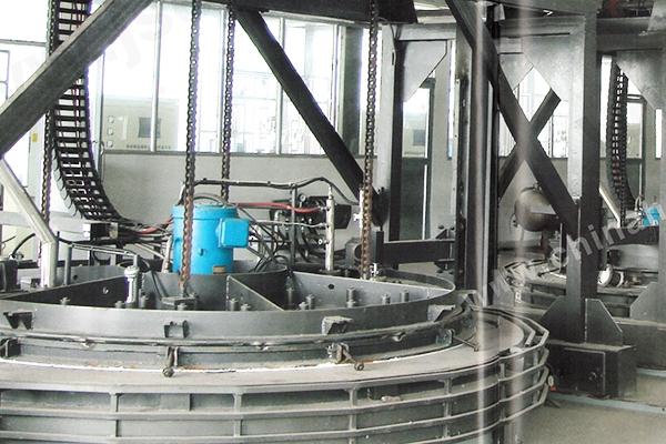 大型井式炉热处理生产线