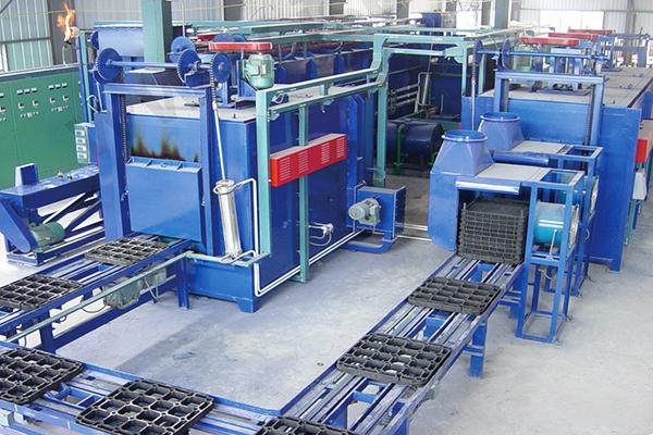 推盘式渗碳炉自动生产线